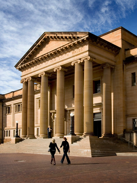 STATE LIBRARY IMAGE